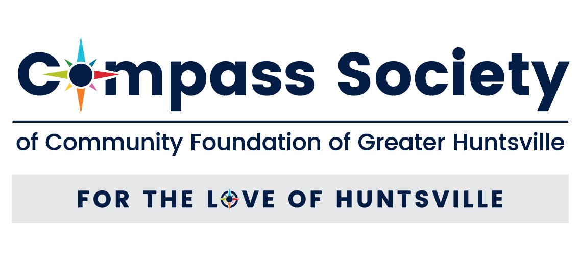 Compass Society logo with tagline LHodges